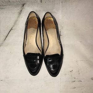 Cole Haan black patent loafers with Nike Air